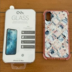 Casetify IPhone XS Case with Glass Protector